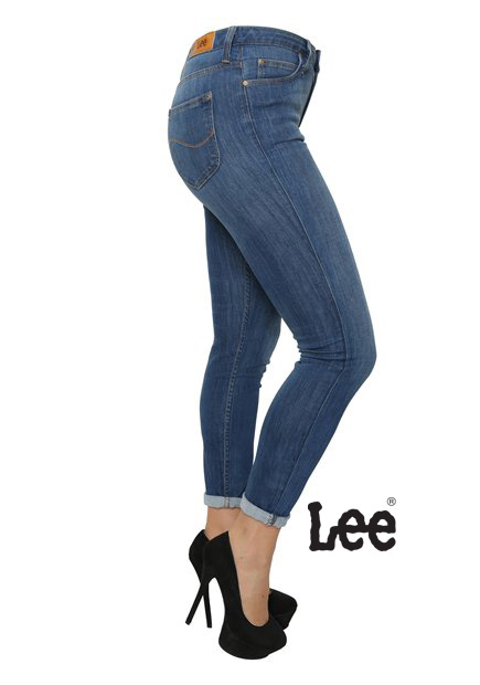 scarlett high lee jeans
