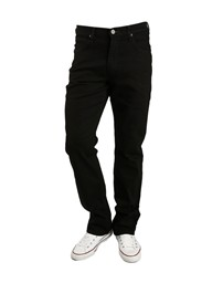 LEE Brooklyn Straight Clean Black Jeans