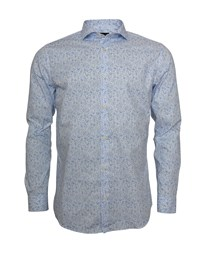 SELECTED SLHRegsel-Hart Shirt LS AOP B Noos