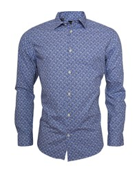 SELECTED SLHRegpen-Mar Shirt LS AOP B Noos