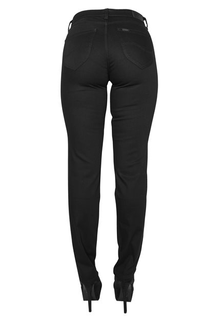 LEE Marion Straight Black Rinse Jeans
